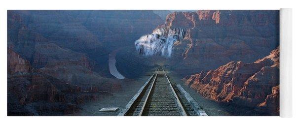 Grand Canyon Collage Yoga Mat