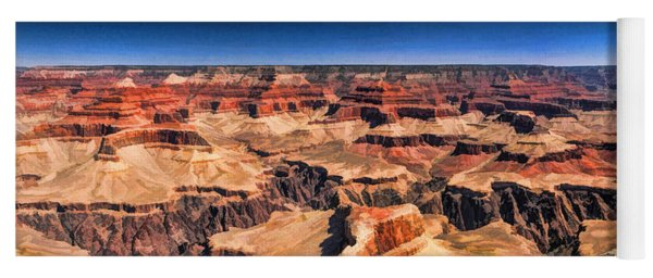 Grand Canyon Grand View Panorama Yoga Mat