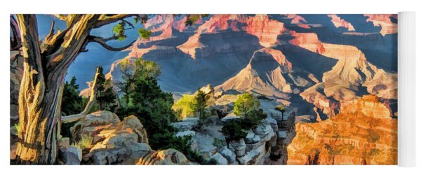 Grand Canyon National Park Ledge Yoga Mat