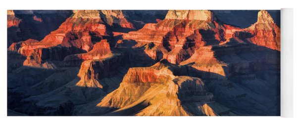 Grand Canyon National Park Sunset Yoga Mat