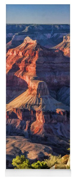 Grand Canyon National Park Sunset Ridge Yoga Mat