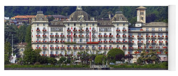 Grand Hotel Des Iles Borromees Yoga Mat