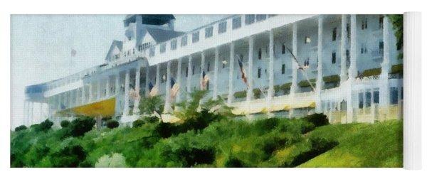 Grand Hotel Mackinac Island Ll Yoga Mat