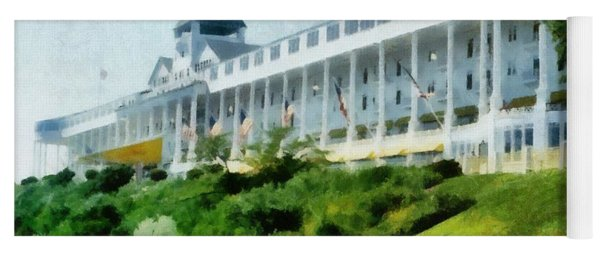 Grand Hotel Mackinac Island Ll Yoga Mat