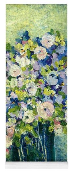 Grandma's Flowers Yoga Mat