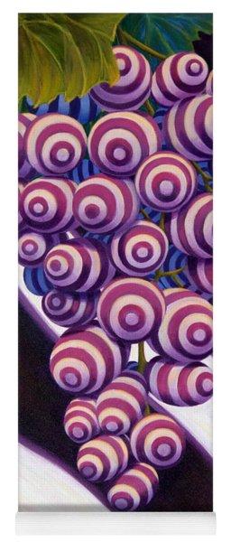 Yoga Mat featuring the painting Grape De Menthe by Sandi Whetzel