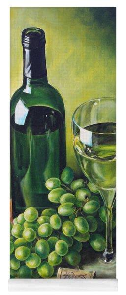 Grapes And Wine Yoga Mat