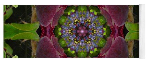 Grapevine Portal Mandala Yoga Mat