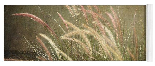 Grasses In Beauty Yoga Mat