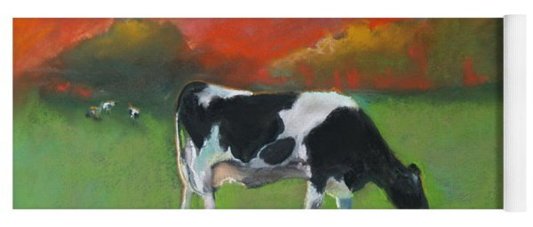 Grazing Cow Yoga Mat
