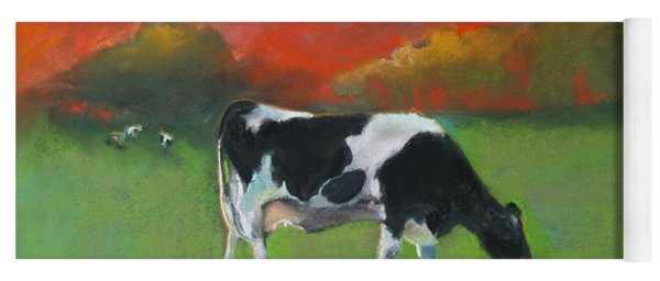 Grazing Cow Yoga Mat