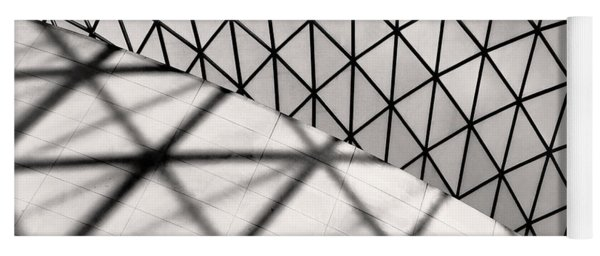 Great Court Abstract Yoga Mat