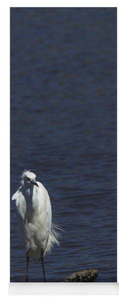 Great Egret Yoga Mat