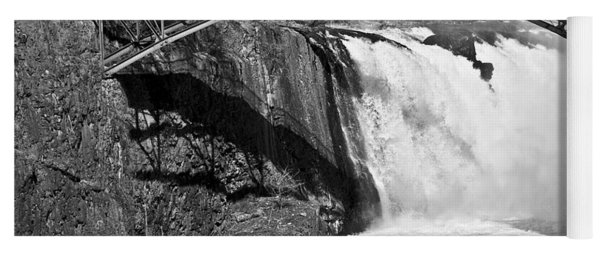 Great Falls In Paterson Nj Yoga Mat