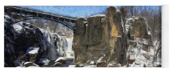 Great Falls Painted Yoga Mat