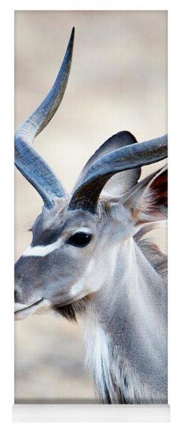 Greater Kudu Tragelaphus Strepsiceros Yoga Mat