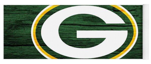 Green Bay Packers Barn Door Yoga Mat