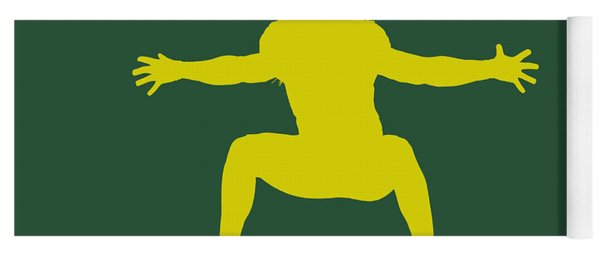 Green Bay Packers Clay Matthews Yoga Mat