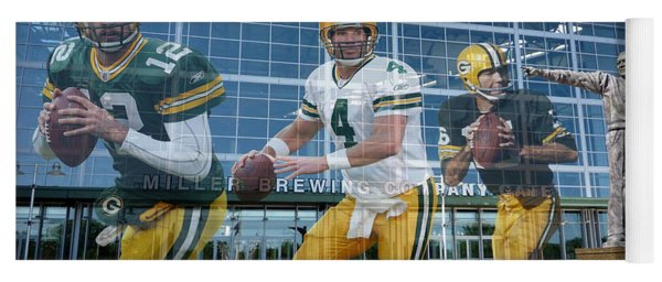 Green Bay Packers Lambeau Field Yoga Mat