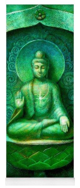 Green Buddha Yoga Mat