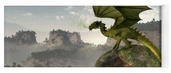 Green Dragon Yoga Mat