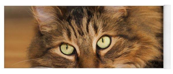 Green Eyes Yoga Mat