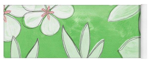 Green Garden Yoga Mat