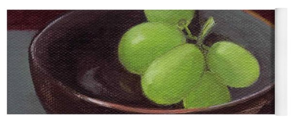 Green Grapes Yoga Mat