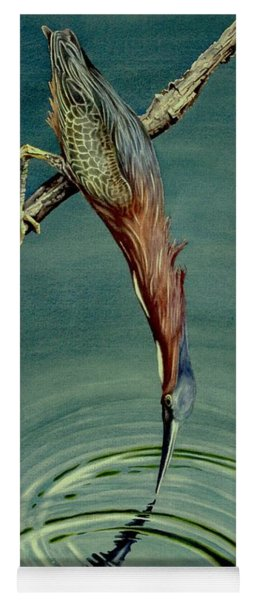 Green Heron Yoga Mat