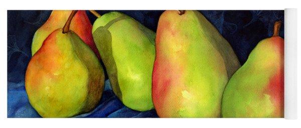 Green Pears Yoga Mat
