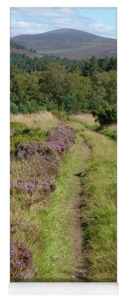 Green Road - Abernethy Forest Yoga Mat
