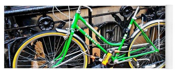 Green Schwinn Bike  Nyc Yoga Mat