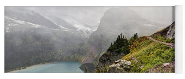 Grinnell Glacier Trail Yoga Mat