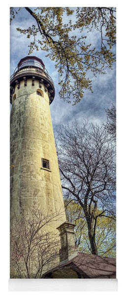 Grosse Point Lighthouse Color Yoga Mat