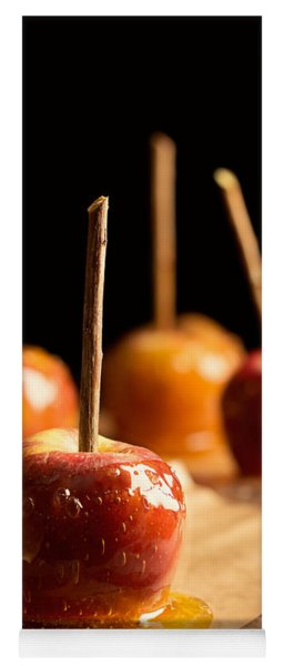 Group Of Toffee Apples Yoga Mat