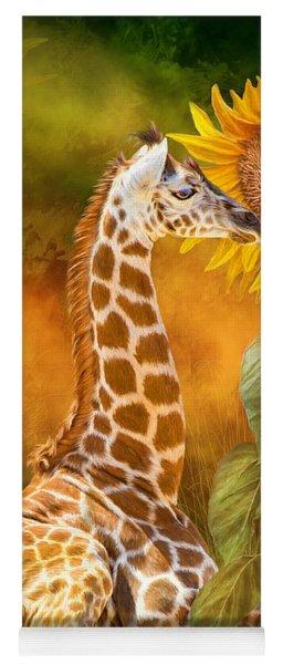 Growing Tall - Giraffe Yoga Mat