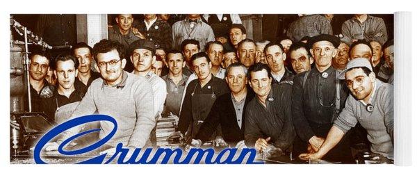 Grumman Iron Works Shop Workers Yoga Mat