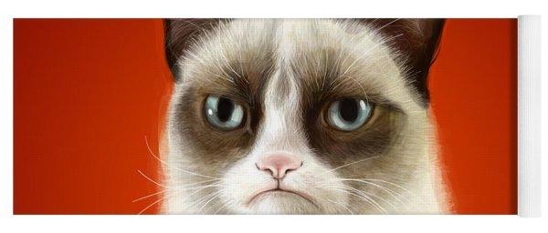 Grumpy Cat Yoga Mat