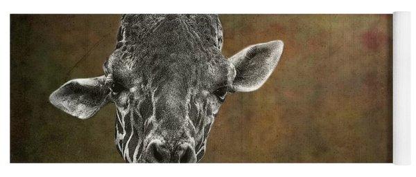 Grungy Giraffe 5654 Brown Yoga Mat