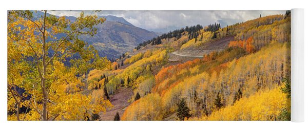 Guardsman Pass Aspen - Big Cottonwood Canyon - Utah Yoga Mat