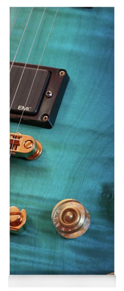 Guitar Blues Yoga Mat