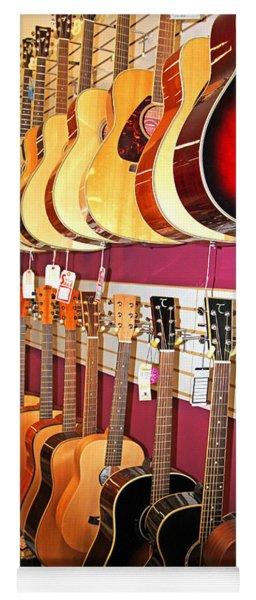 Guitars For Sale Yoga Mat
