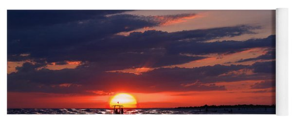 Gulf Coast Sunset Yoga Mat