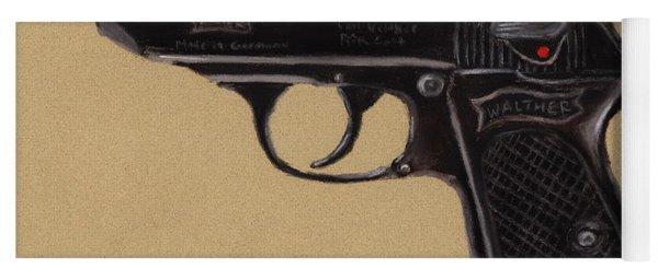 Gun - Pistol - Walther Ppk Yoga Mat