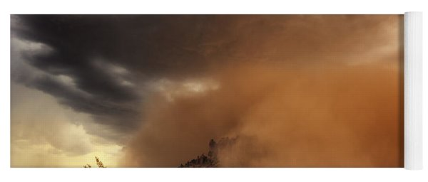 Haboob Is Coming Yoga Mat