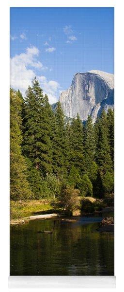 Half Dome Yosemite National Park Yoga Mat
