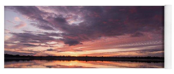 Halifax River Sunset Yoga Mat