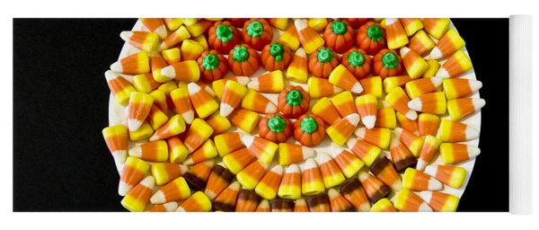 Halloween Candy Yoga Mat