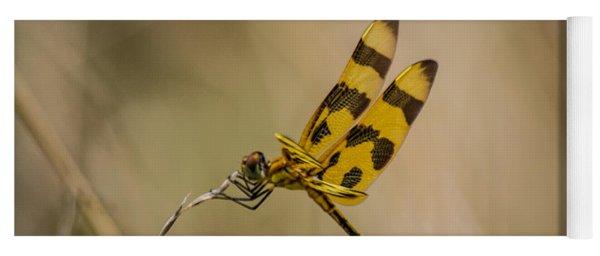 Halloween Pennant Dragonfly Yoga Mat