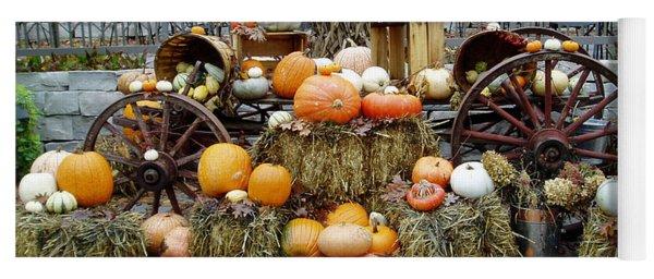 Halloween Pumpkins Yoga Mat